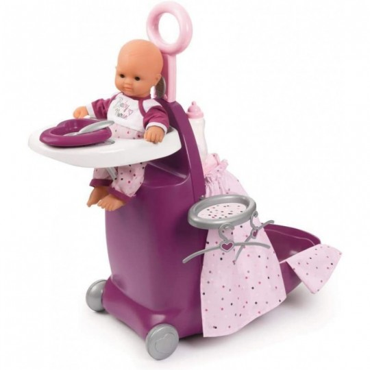Smoby Nursery Suitcase 3in1