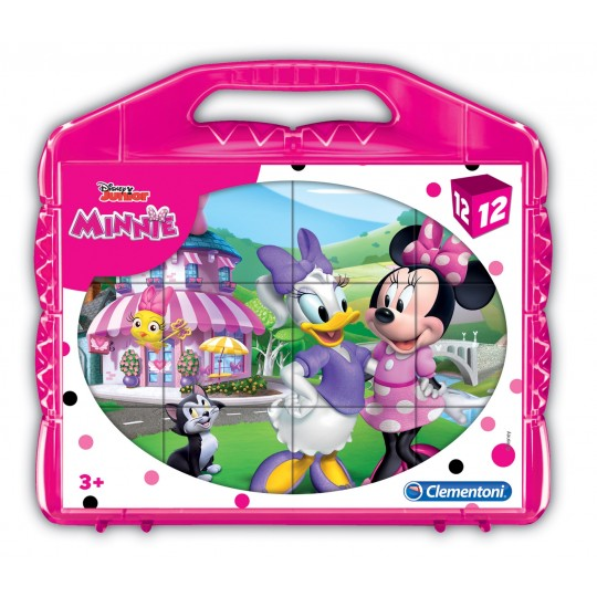 Clementoni Disney Minnie - 12 pcs - Cubes