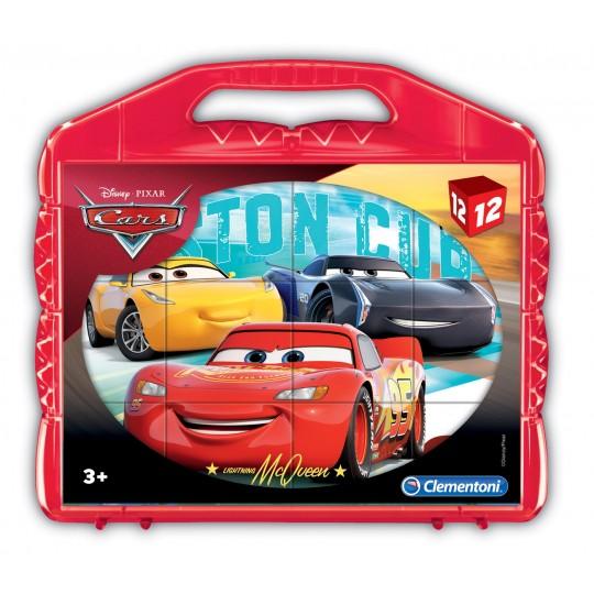 Clementoni Disney Cars - 12 pcs - Cubes