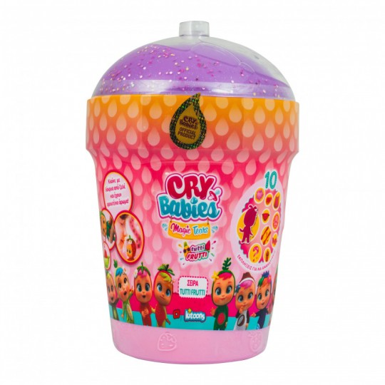 Cry Babies Magic Tears Series Tutti Frutti House