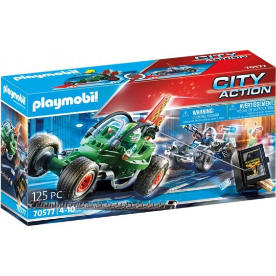 Playmobil City Action Police Go-Kart Escape