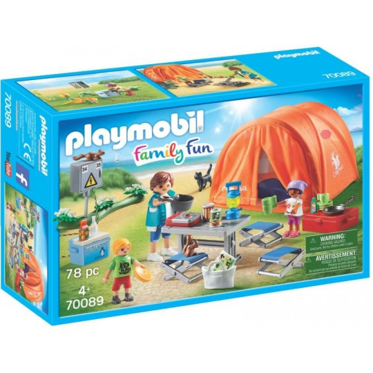 Playmobil Family Fun - Family Camping Trip