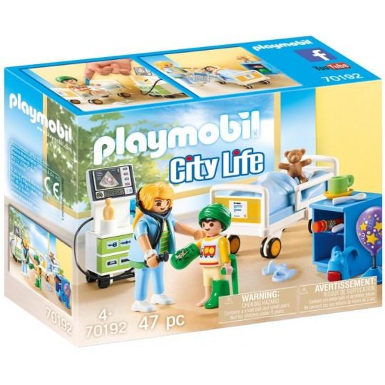 Playmobil City Life - Children's Hospital Room