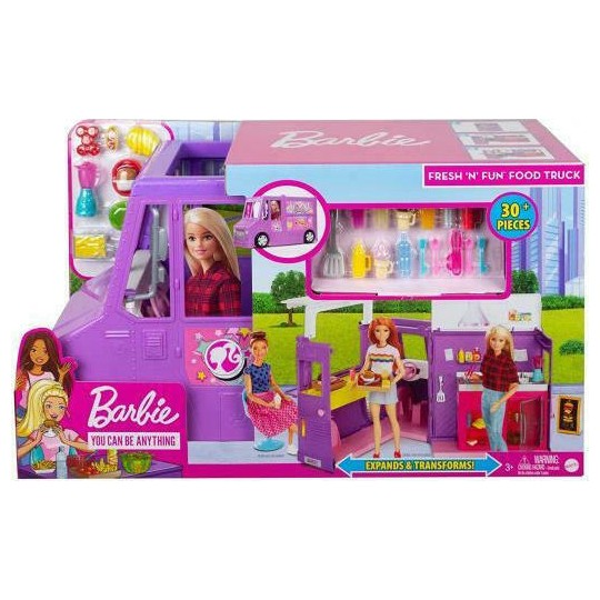 Mattel Barbie You Can Be Anything - Food 'N' Fun Food Truck