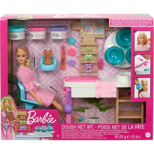 Mattel Barbie - Face Mask Spa Day Playset
