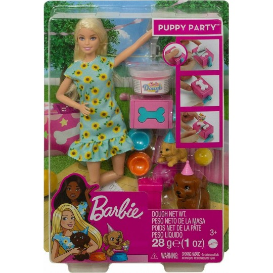 Mattel Barbie You Can Be Anything - Puppy Party