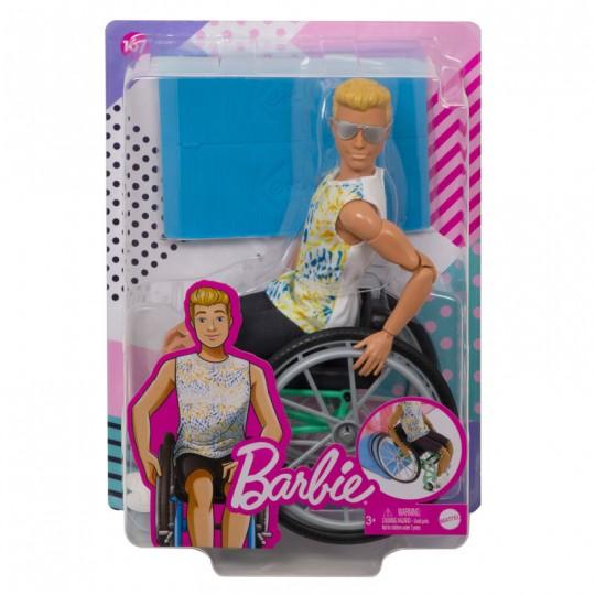 Mattel Barbie Ken Doll - Fashionistas (167) - Doll With Wheelchair