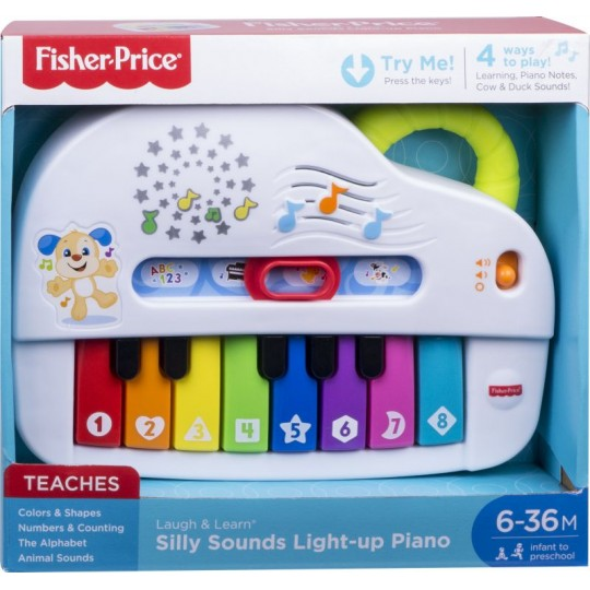 Fisher-Price Εκπαιδευτικό Πιάνο με Φώτα και Ήχους