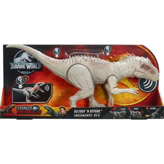 Mattel Jurassic World Dino Rivals - Destroy 'n Devour Indominus Rex
