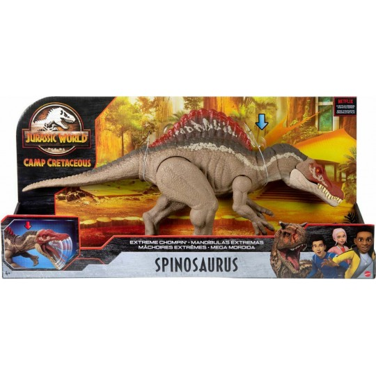 Mattel Jurassic World Camp Cretaceous: Extreme Chompin' Spinosaurus Gigantic