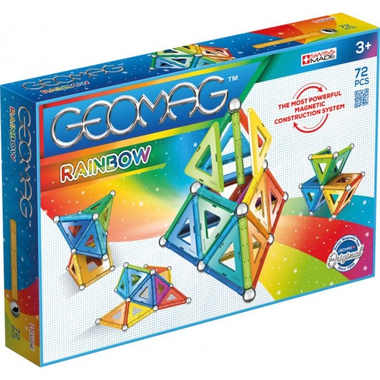 Geomag Rainbow Panels 72 pcs