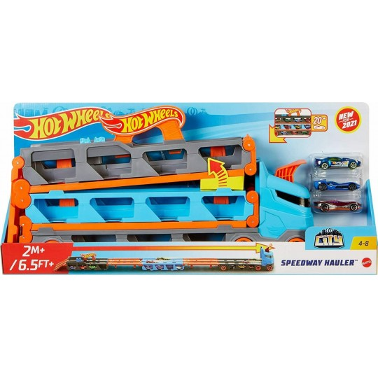 Mattel Hot Wheels City: Speedway Hauler