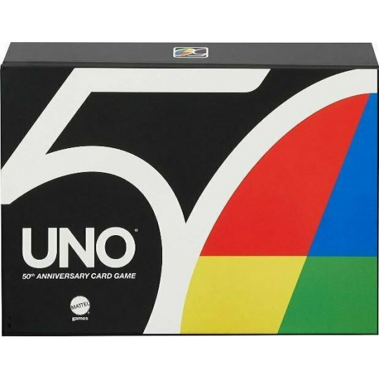 Uno Premium 50th Anniversary Card Game