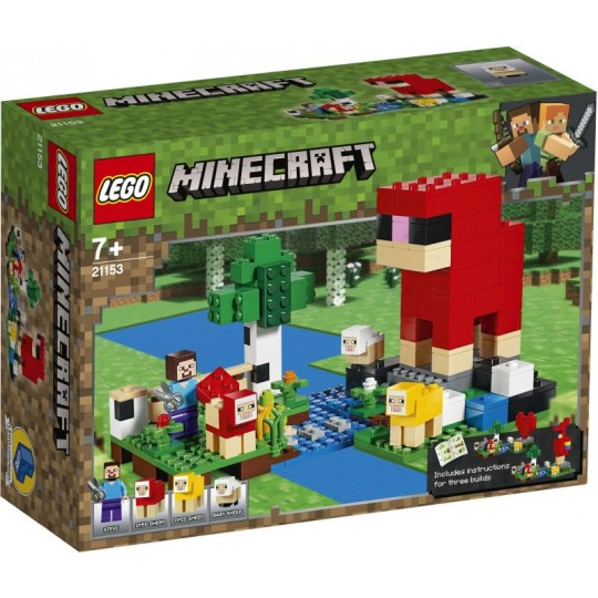 LEGO® Minecraft™: The Wool Farm