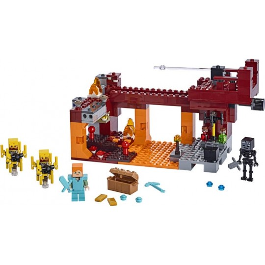 LEGO® Minecraft™: The Blaze Bridge