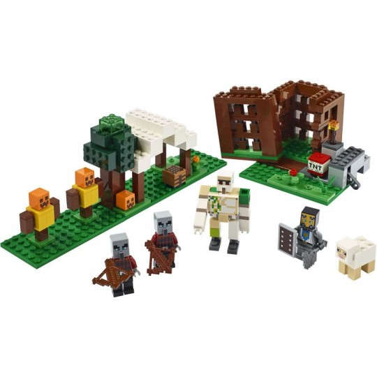 LEGO® Minecraft™: The Pillager Outpost