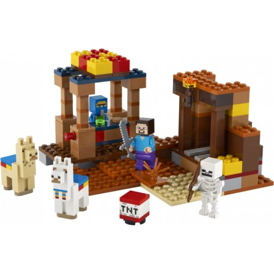 LEGO® Minecraft™: The Trading Post
