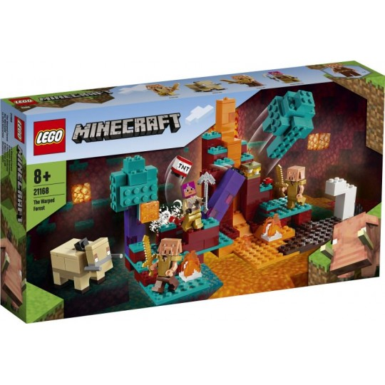 LEGO® Minecraft™: The Warped Forest