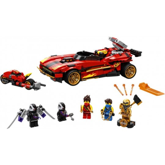 LEGO® NINJAGO®: X-1 Ninja Charger