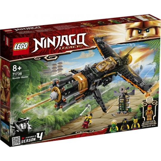 LEGO® NINJAGO®: Boulder Blaster