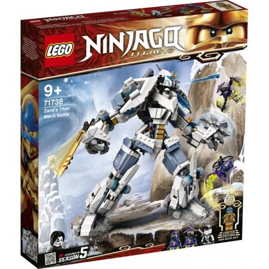 LEGO® NINJAGO®: Zane's Titan Mech Battle