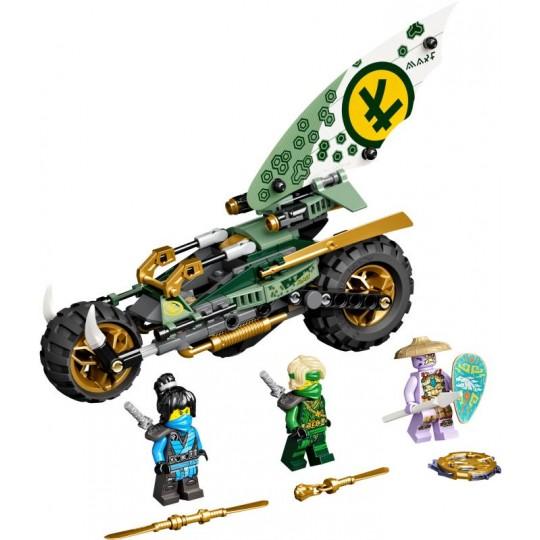 LEGO® NINJAGO®: Lloyd's Jungle Chopper Bike