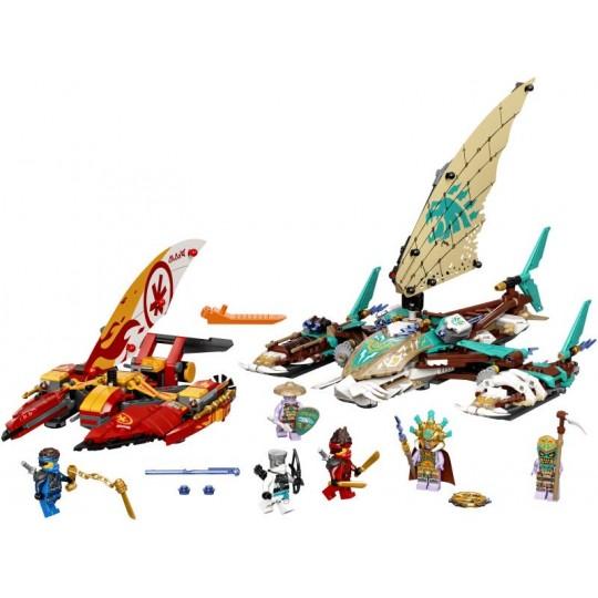 LEGO® NINJAGO®: Catamaran Sea Battle
