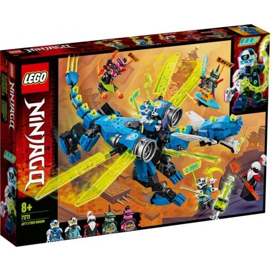 LEGO® NINJAGO®: Jay's Cyber Dragon
