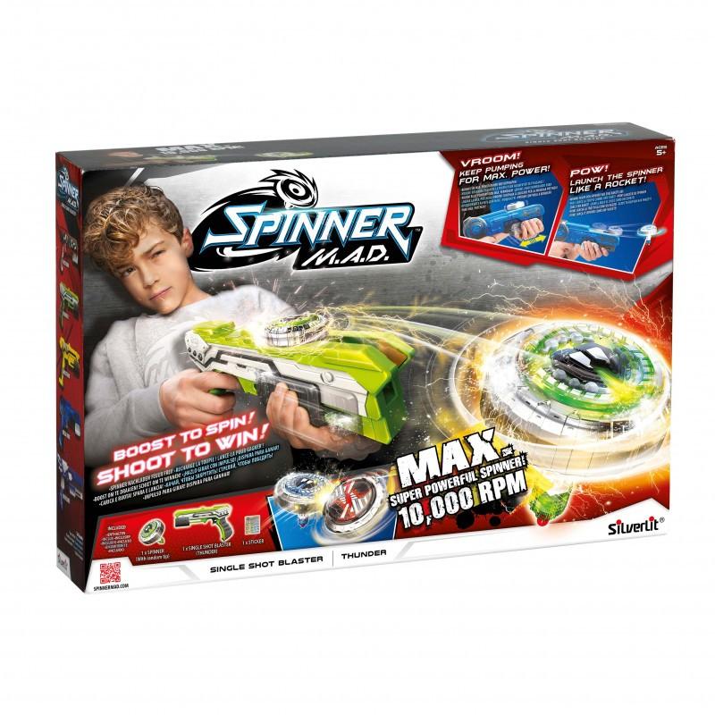 Spinner M.A.D. Single Shot Blaster