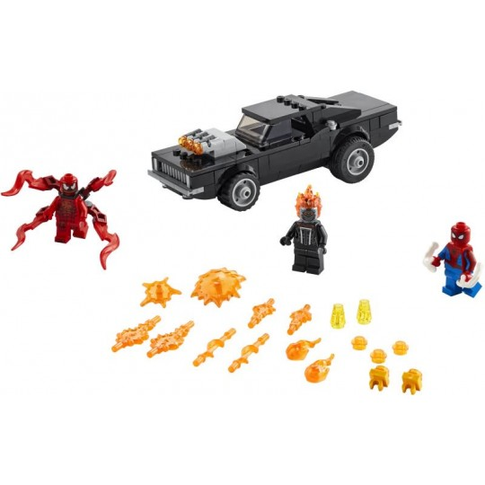 LEGO® Super Heroes: Marvel Spider-Man and Ghost Rider vs Carnage