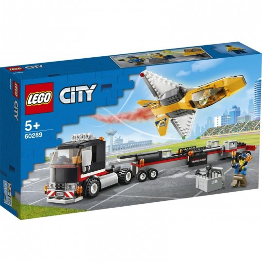 LEGO® City Great Vehicles: Airshow Jet Transporter