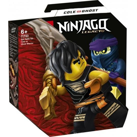 LEGO® NINJAGO®: Epic Battle Set - Cole vs Ghost Warrior