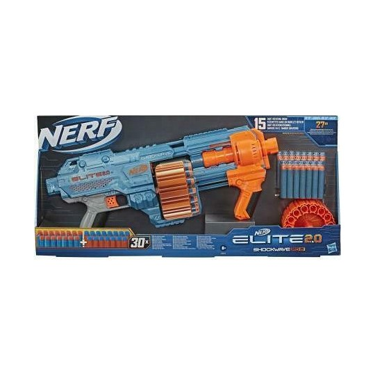 Hasbro Nerf Elite 2.0 - Shockwave RD-15 Blaster