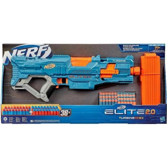 Hasbro Nerf Elite 2.0 - Turbine CS-18 Motorized Rapid-Fire Blasting