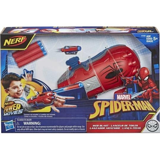 Hasbro Nerf Power Moves: Marvel Spider-Man - Web Blast
