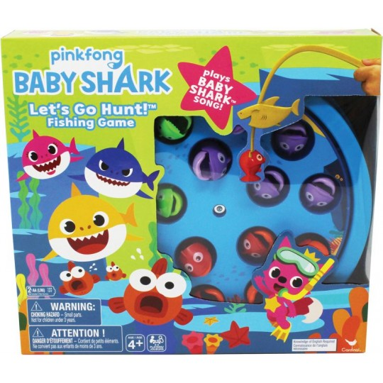 Baby Shark - Let's Go Hunt Fishing Game & Song