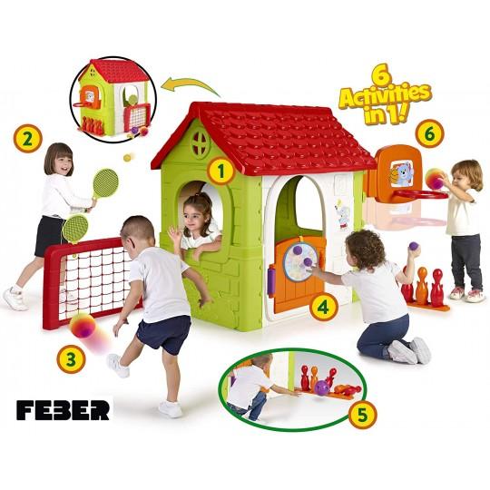 FEBER MULTI-ACTIVITY HOUSE 6IN1
