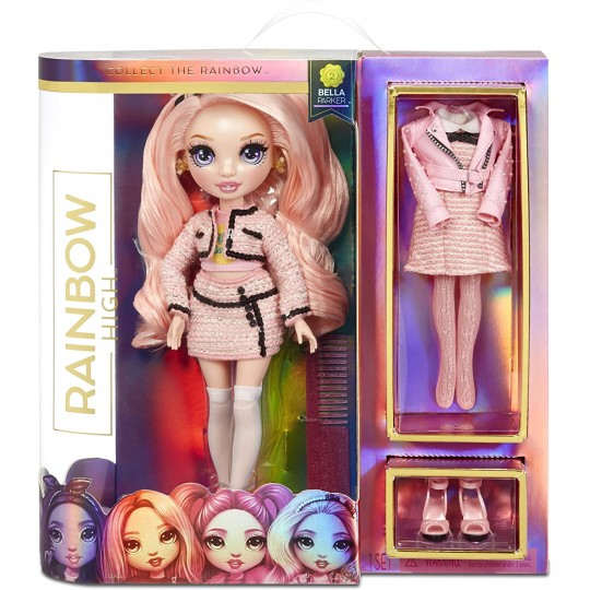 Rainbow High Fashion Doll - Pink