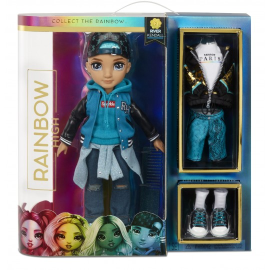 Rainbow High Fashion Doll - Teal Boy