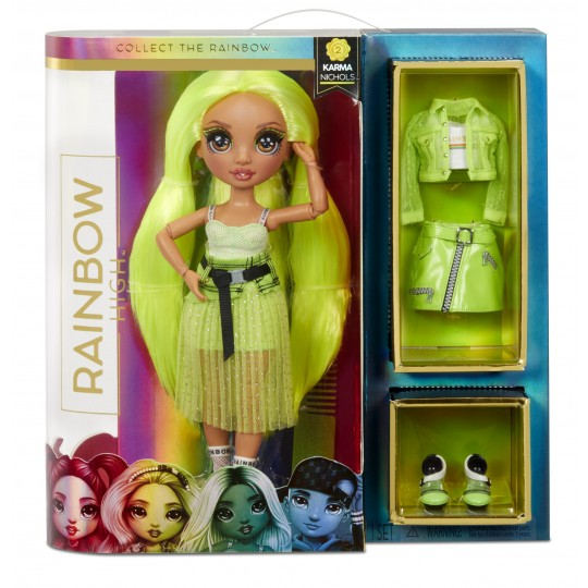 Rainbow High Fashion Doll - Neon