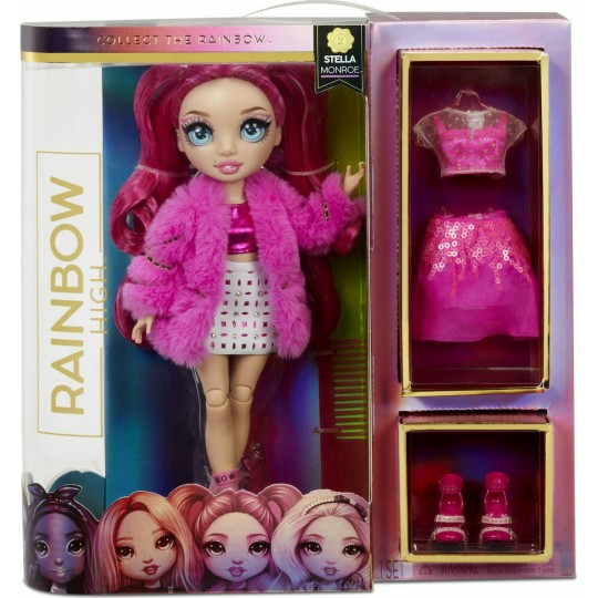 Rainbow High Fashion Doll - Fuchsia