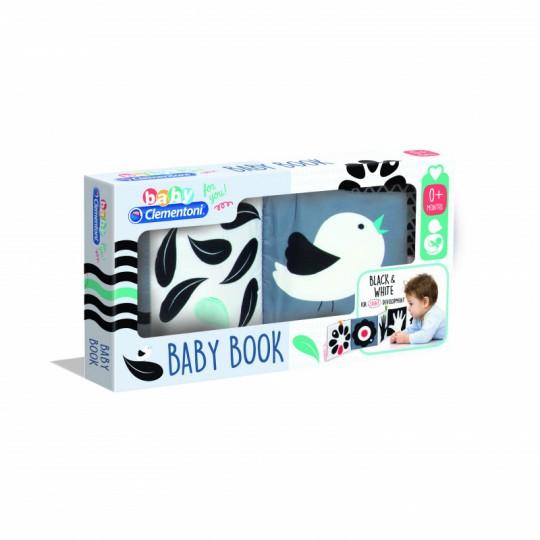 Baby Clementoni Black & White Soft Book