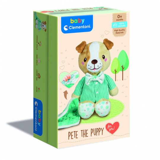 New Born Sweet Puppy Plush In Gift Box