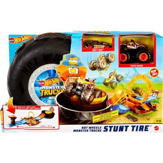 Mattel Hot Wheels: Monster Trucks - Stunt Tire