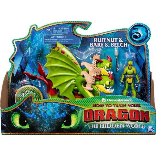 How to Train Your Dragon - Dragon & Viking - Ruffnut & Barf & Belch