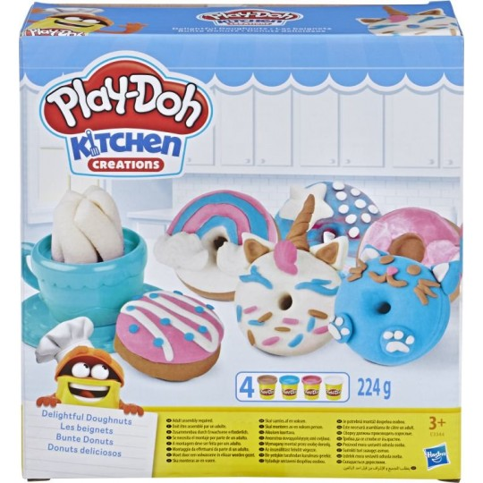 Play-Doh Kitchen Creations - Delightful Donuts