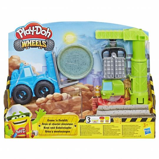 Play-Doh Wheels - Crane 'n Forklift