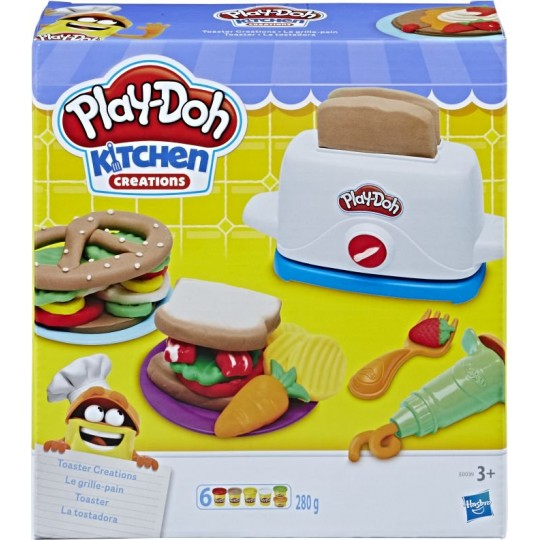 Play-Doh Kitchen Creations - Toaster Creations
