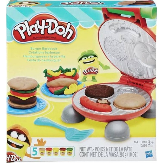 Play-Doh Kitchen Creations - Burger Barbecue Playset