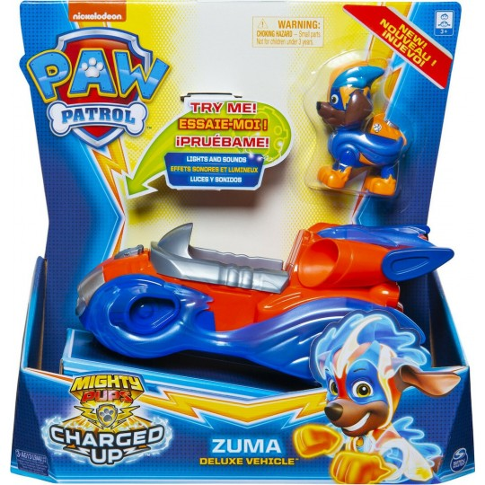 Paw Patrol: Mighty Pups Charged Up - Zuma Deluxe Vehicle